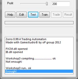 Zorro forex trading